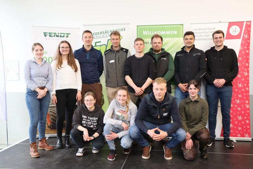 Das Team Niedersachsen auf dem Bundesentscheid 2019 in Herrsching (Bayern). Bild: BDL/ Gräschke