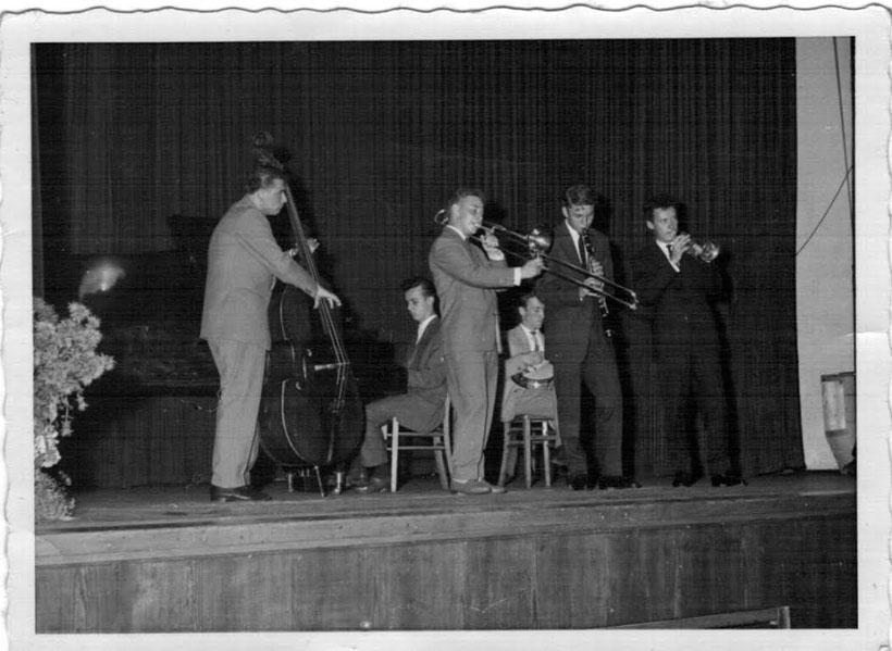 © Werner Lener, Stuttgart// Darktown Jazz Band / 1958