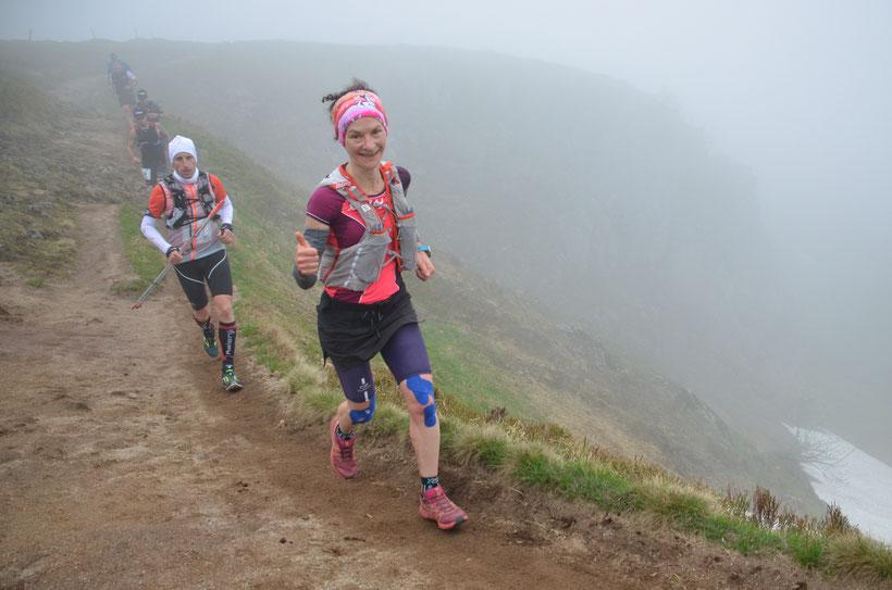Trail des Marcaires 2018 (32km, 1600 D+) : 2ème V1F