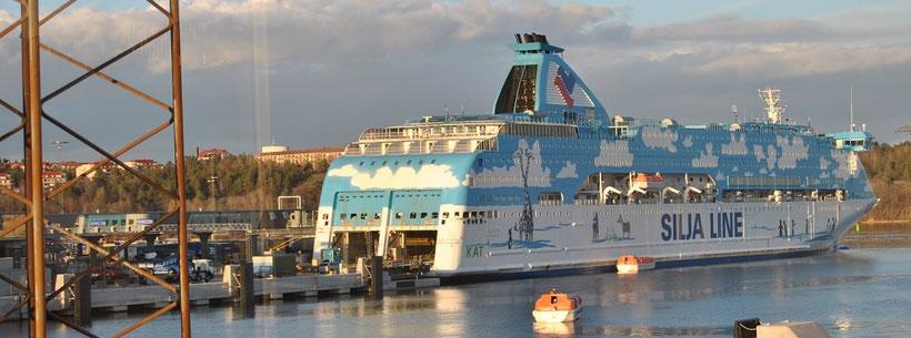 Fährhafen Stockholm