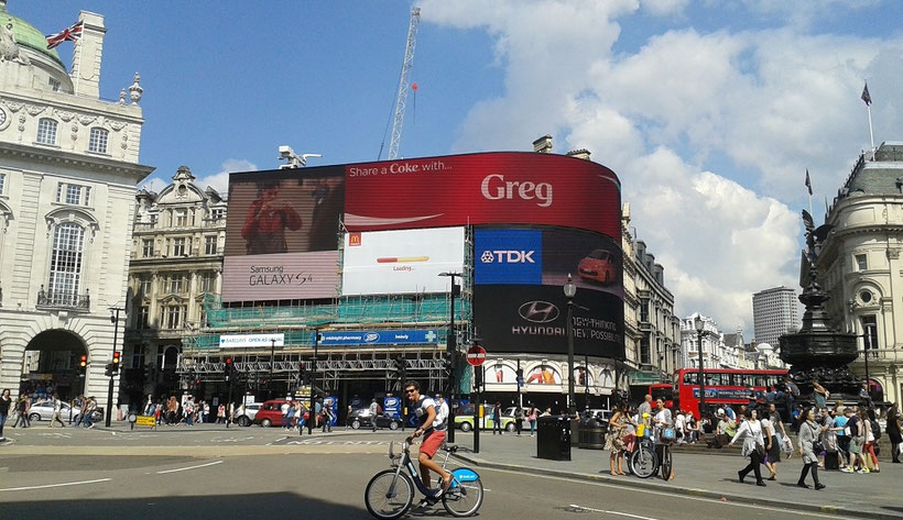 London in 3 Tagen - Sehenswürdigkeiten: Piccadilly Circus London