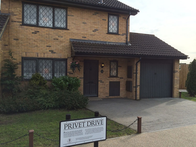 Harry Potter Studio Tour - Privet Drive