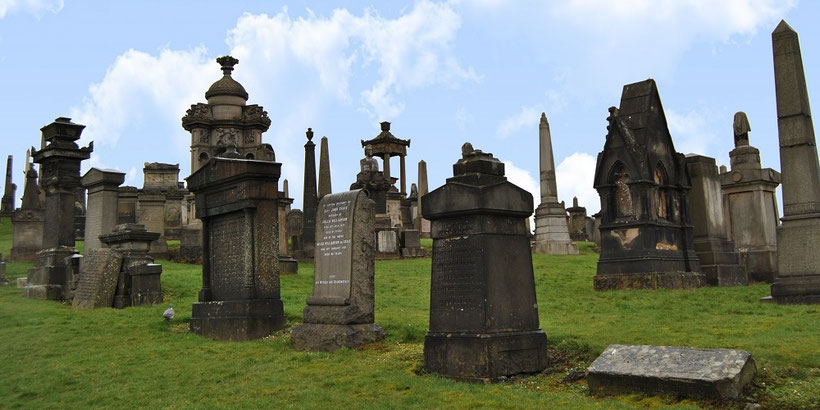 Glasgow - 10 things to see and do - Glasgow Necropolis