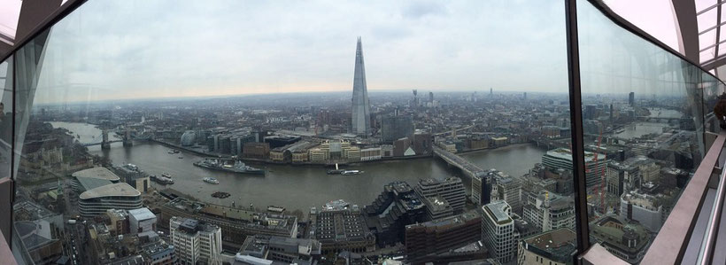 Spartipps London - Sky Garden statt The Shard (London günstig Tipps)