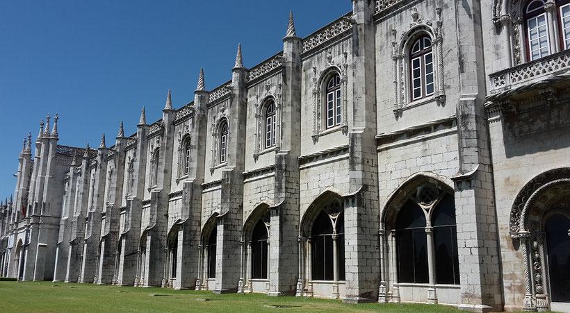 Kloster Mosteiro dos Jerónimos in Belem, Lissabon