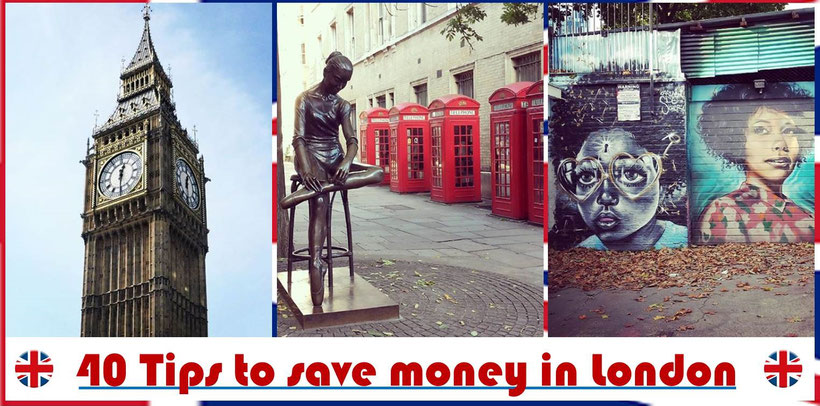 Tips on Traveling London on a Budget / How to save money in London
