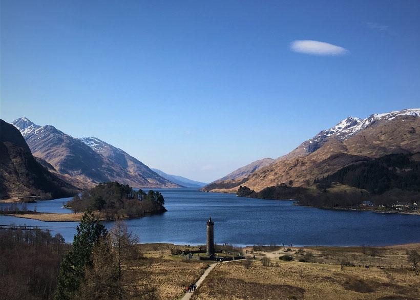 Fotoparade - die schönsten Fotos von Reisezielen in Europa - Loch Shiel in Schottland