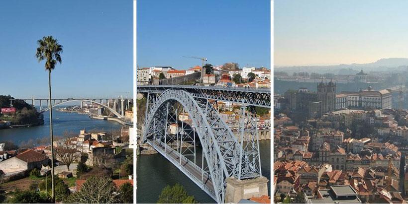 Porto - die besten Aussichtspunkte / schönste Aussicht Porto