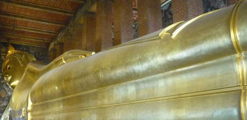 Reiseroute Thailand 2 Wochen - Liegender Buddha, Bangkok
