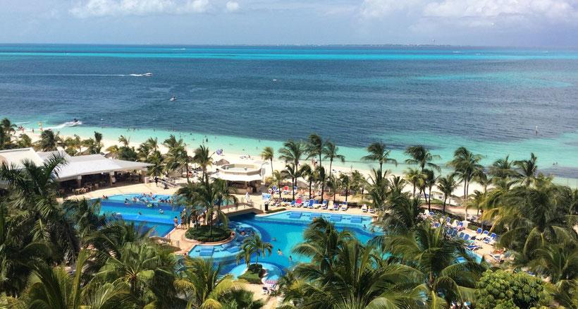 Reiseroute Kuba Mexiko Rundreise und baden - Cancun