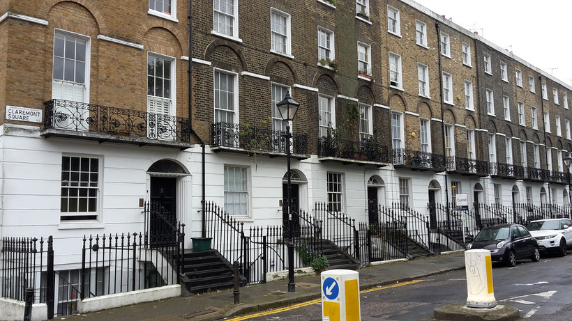 Harry Potter film locations London - Claremont Square / headquarter Orden of the Phoenix / Grimmauls Place 12