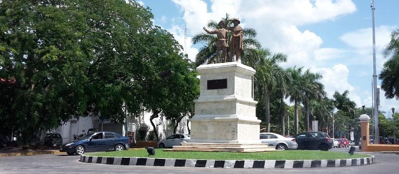 Monumento a los Montejo, Mérida Yucatan
