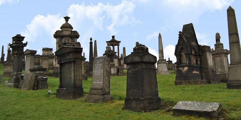 Glasgow Sehenswürdigkeiten Top 10 - Glasgow Necropolis