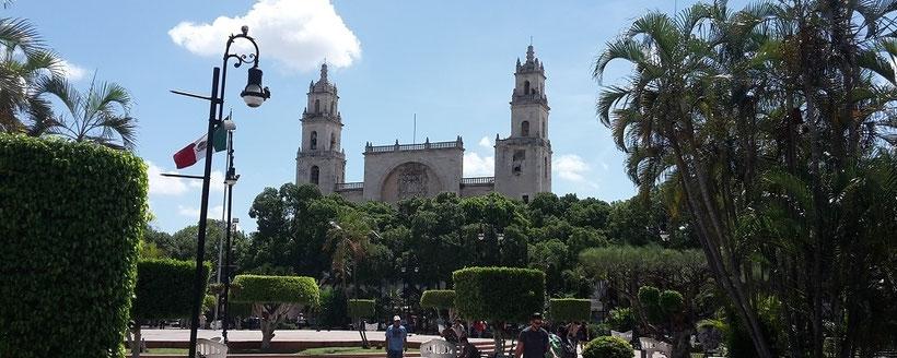 Plaza Grande Mérida Yucatan