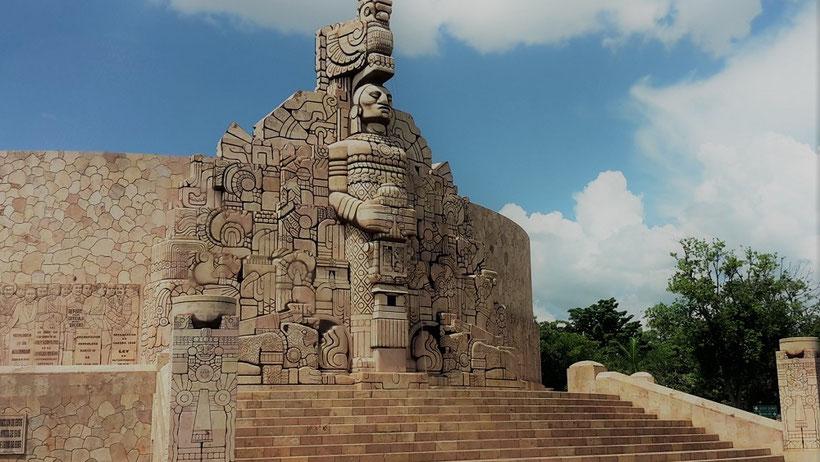Monumento de la Patria, Mérida Yucatan