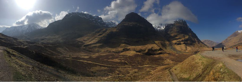 Glencoe, Schottland / Harry Potter Drehort / Hagrids Hütte (Discover Scotland Tours)