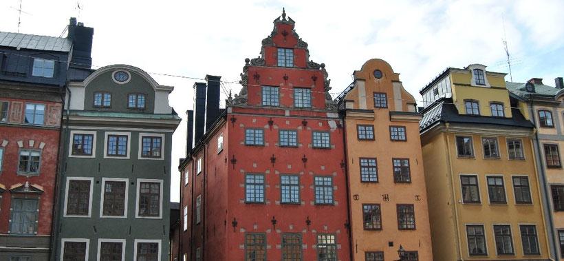 Marktplatz Stortorget Stockholm