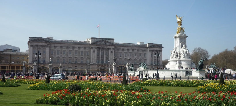 London in 3 Tagen - Sehenswürdigkeiten: Buckingham Palace