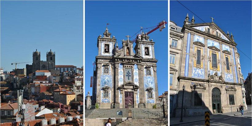 Porto Kirchen - Die schönsten Kirchen in Porto