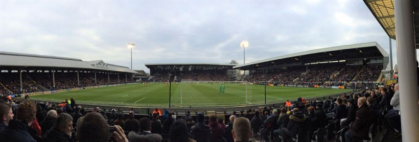 Geheimtipps London - FC Fulham Stadion Craven Cottage