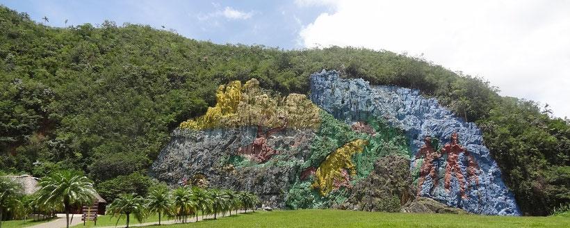Mural de la Prehistoria Vinales (Tagesausflug ab Havanna)