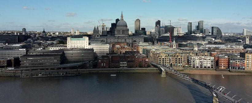 London in 3 Tagen - Sehenswürdigkeiten: Aussichtsplattform Tate Modern