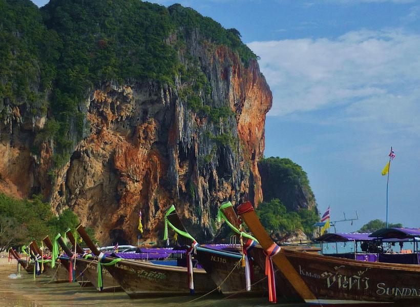 Reiseroute Thailand 2 Wochen - Railay Beach