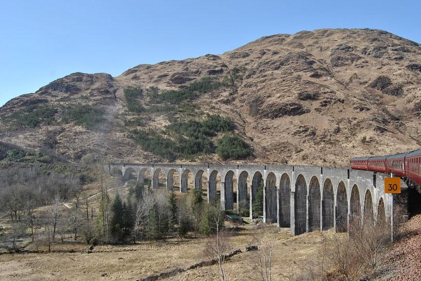 Glenfinnan Viadukt in Schottland