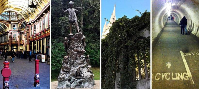 London abseits der klassischen Touristenpfade - Geheimtipps und unbekannte Ecken