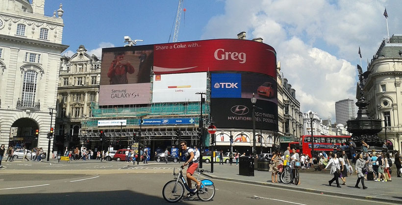 Piccadilly Circus, Harry Potter Drehorte London