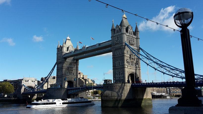 London in 3 Tagen - Sehenswürdigkeiten: Tower Bridge