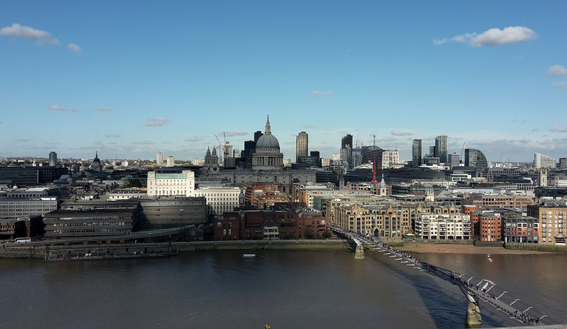 Tate Modern - Viewpoints in London free of charge