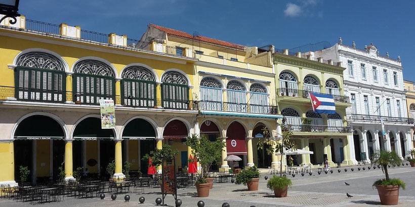 Plaza Vieja, Havanna