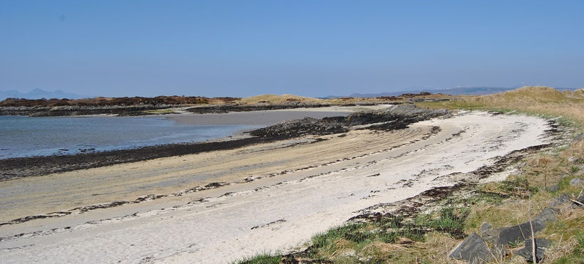 Silver Sands in Morar, Schottland (Discover Scotland Tours)