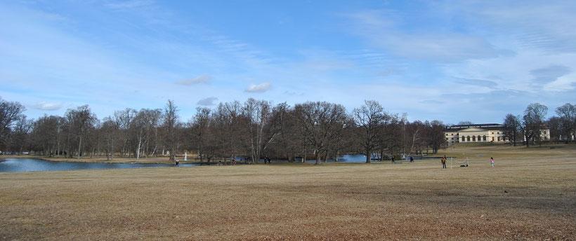 Park Drottningholm Palace Stockholm