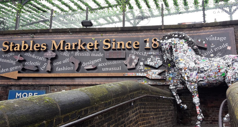 Top markets London -Stables Market Camden