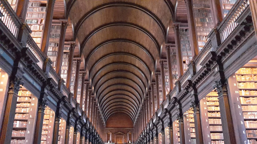 Long Room Trinity College, Dublin