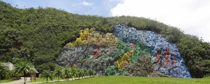 Day trip Havana Vinales Valley Cuba - Mural de la Prehistoria