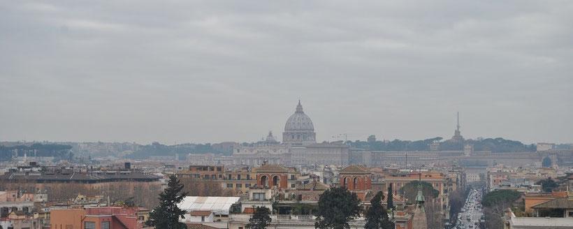 Ausblick auf den Vatikan