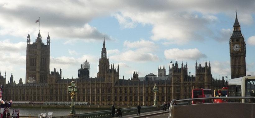 London in 3 Tagen - Sehenswürdigkeiten: Palace of Westminster