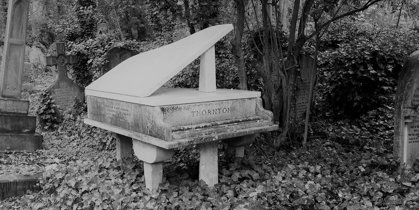 Highgate Cemetery , Friedhof in Hampstead in London