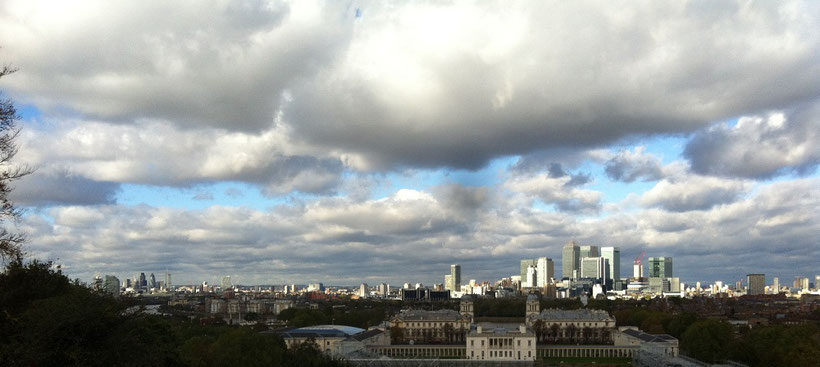 Viewpoints in London free of charge - Greenwich Park