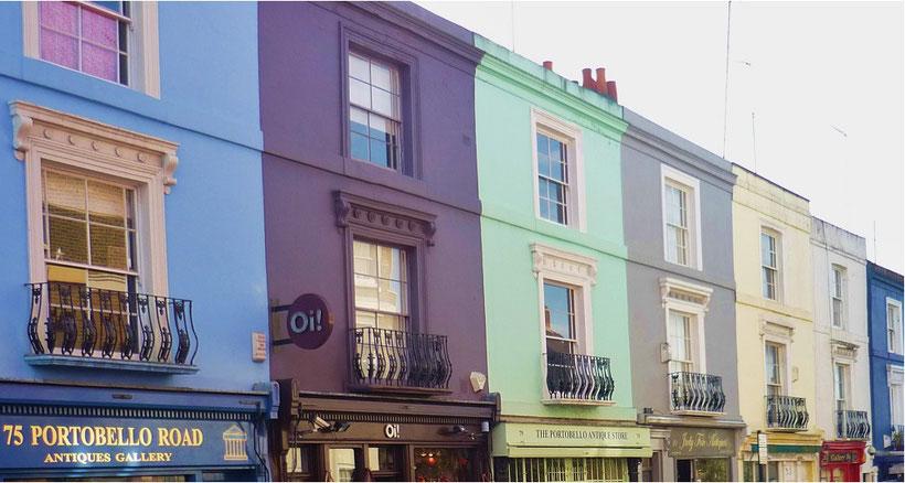 Top markets London - Portobello Road Market in Notting Hill