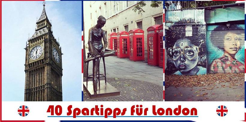 Spartipps London: So kommst du günstig durch London (London günstig Tipps)