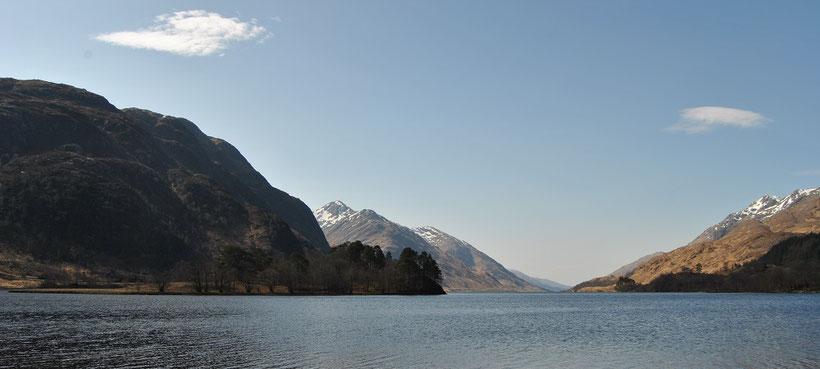 Glenfinnan, Schottland / Harry Potter Drehort / Hogwarts See / Loch Shiel (Discover Scotland Tours)