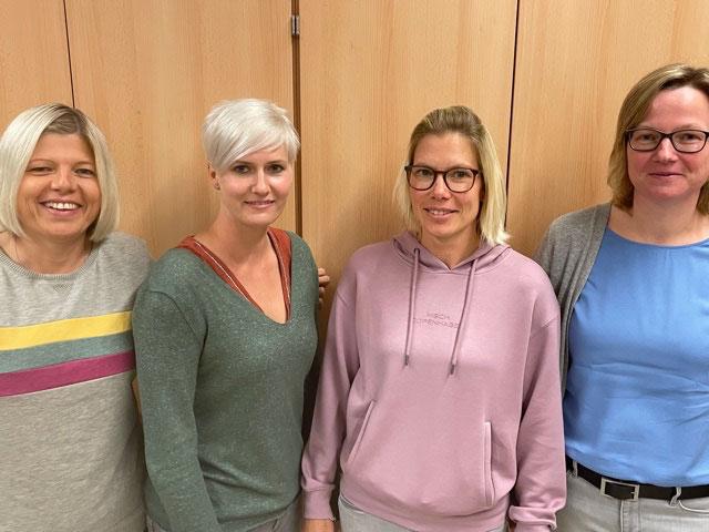 von links: Katja Kemper, Stefanie Becker, Mareike Hötger, Katrin Lausen