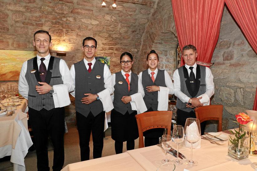 Service, Bedienung im Restaurant
