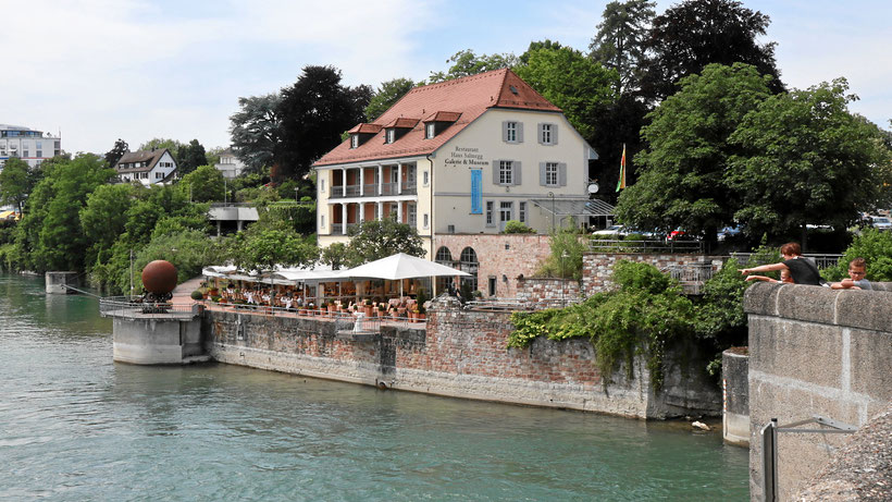 Restaurant am Rhein in Rheinfelden in Südbaden