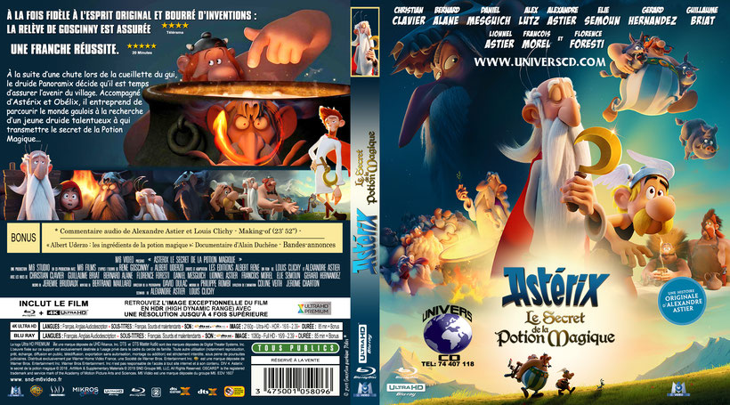 Asterix Le Secret De La Potion Magique