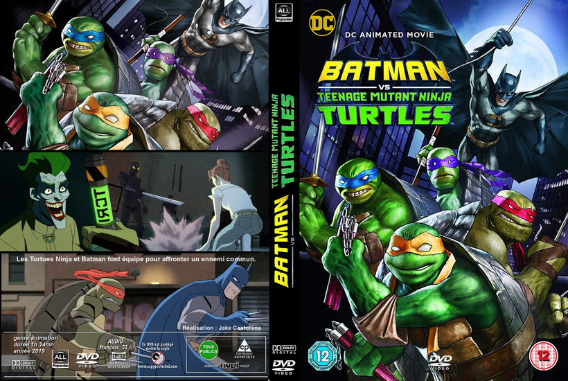 Batman Vs.Teenage Mutant Ninja Turtles